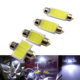 Auto Accessoires 12 SMD COB Led Car Roof Reading Light 31mm 36mm 39mm 41mm Interior Dome Festoon Lights 12V Car Light Bulb