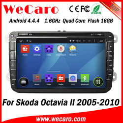 Wecaro WC-SU8032 Android 4.4.4 car stereo 2 din car radio for skoda octavia radio gps 2005 -2010