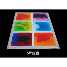 Wholesale filled by nontoxic cosmetic liquid floor tiles