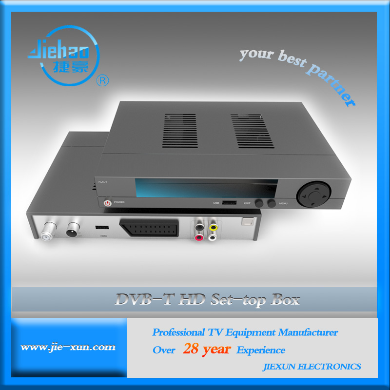 DVB-T MPEG4 HD STB Set Top Box Tuner