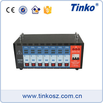 TINKO Multi Cavity Hot Runner Auto Tuning Temperature Controller 220V for Plastic Injection Machine