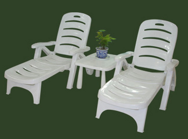 2016 Best Quality Outdoor Furniture Plastic Leisure Chairs Wooden Outdoor Furniture Relax Chair