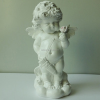2016 New arrival middle size resin cupid figurine resinic statue for sale