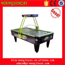 coin operated air hockey table arcade equipment machines Hot Flash electronic hockey amusement game machines