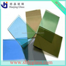 High quality and best price broken float glass table/reflective glass