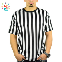 Men's Official Striped Referee shirt Umpire V-Neck Jersey by new apparel Sporting Goods Referee Jersey ,referee uniforms