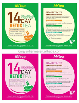 private label USFDA Herbal Tea 14 day Detox Tea /Slimming Tea /loss weight
