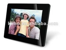 8 inch hot sell digital photo frame with weather station