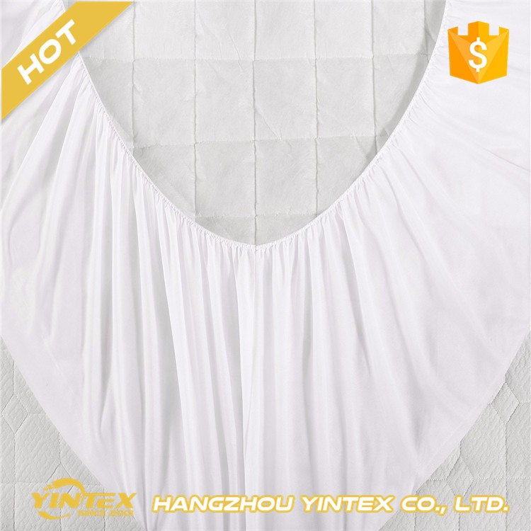 Ultra Soft Fitted Bamboo Mattress Pad - Premium Hypoallergenic Bamboo Mattress Topper with Honeycomb Cooling Technology - King - Jozy Mattress | Jozy.net