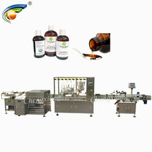 China 6 nozzle filling line,bottle filling capping and labeling machine