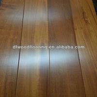 Factory Price 18mm Thickness Burma Teak Solid Wood Flooring