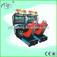 Mario kart racing game machine