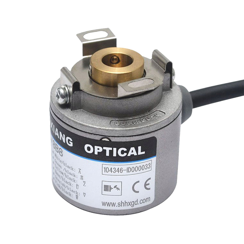 Servo motor motion encoder rotary encoder for automation 8 poles