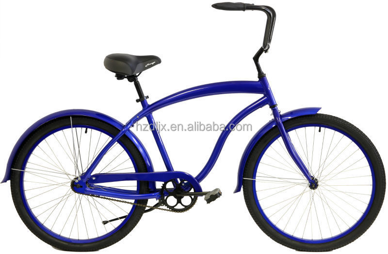 Wholesale aluminium 26 beach cruiser Bicycle frame bicycle beach cruiser/lady bike