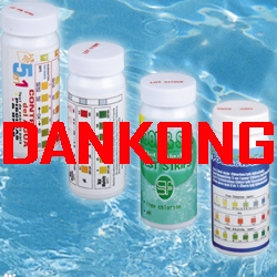 swimming pool test strips, PH , freel Chlorine/bromine , total alkalinity, hardness