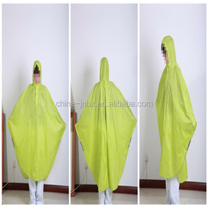 Raincoats Type and Plastic PVC Material Disposable Custom Printed Rain Ponchos