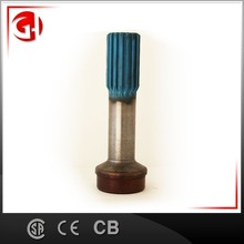 China supplier Forging carbon steel drive shaft parts hollow spline shaft