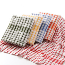 <strong>100</strong>% cotton dish cloths kitchen tea towel with your logo in low price