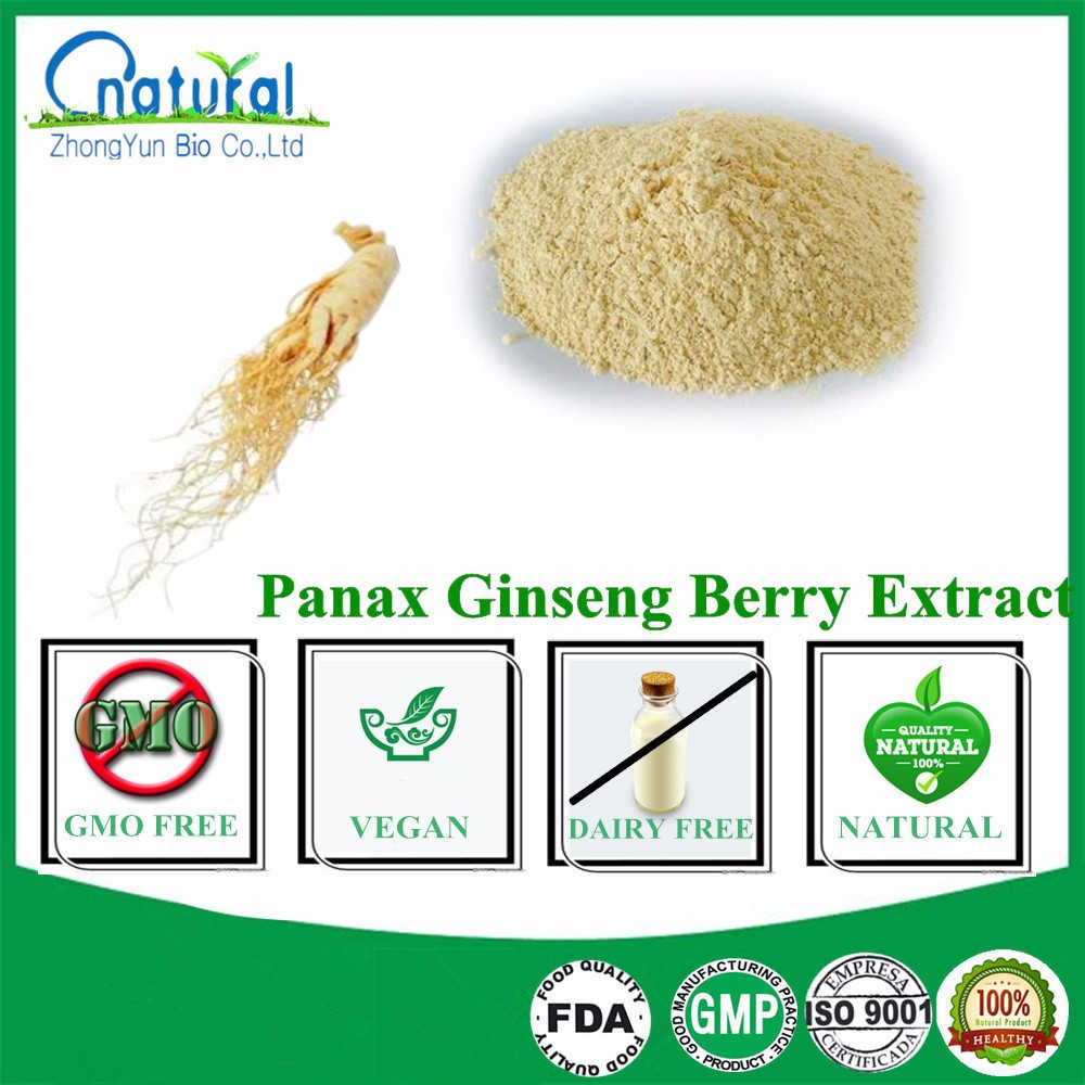 Natural Panax Ginseng Berry Extract