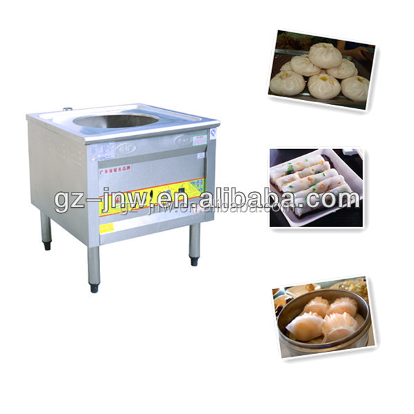DZY500 gas dim sum steamer cooker for dumpling,dim sum