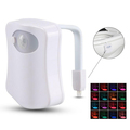 New Arrival Sensor Motion Activated LED Toilet Night Light,Toilet Bowl Light