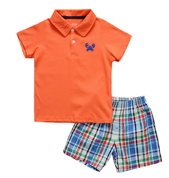 Summer children clothing sets clothing factories in china child clothes kids wear