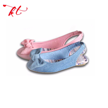 New type top sale high quality girls fancy flat sandal