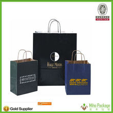 Wholesale Brown kraft paper bags with Customer logo print