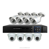 Enxun Bullet and dome analog security HD DVR 8 channel cctv camera dvr system kit