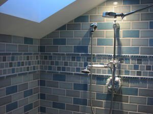 Shunan Bathroom Shower Tile Grout White