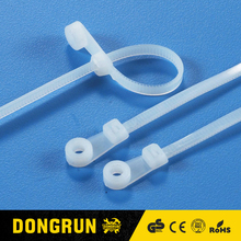 Good quality reusable self gripping cable ties 2.5, 3, 3.6, 4.8, 6, 7.2, 9mm CE ROHS 145 DONGRUN brand