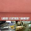 Tannery High Grade Coated Cow Leather