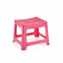 fashion square stripe toilet stool small plastic foot stool for kids