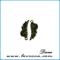 plated metal wholesale paw print charms