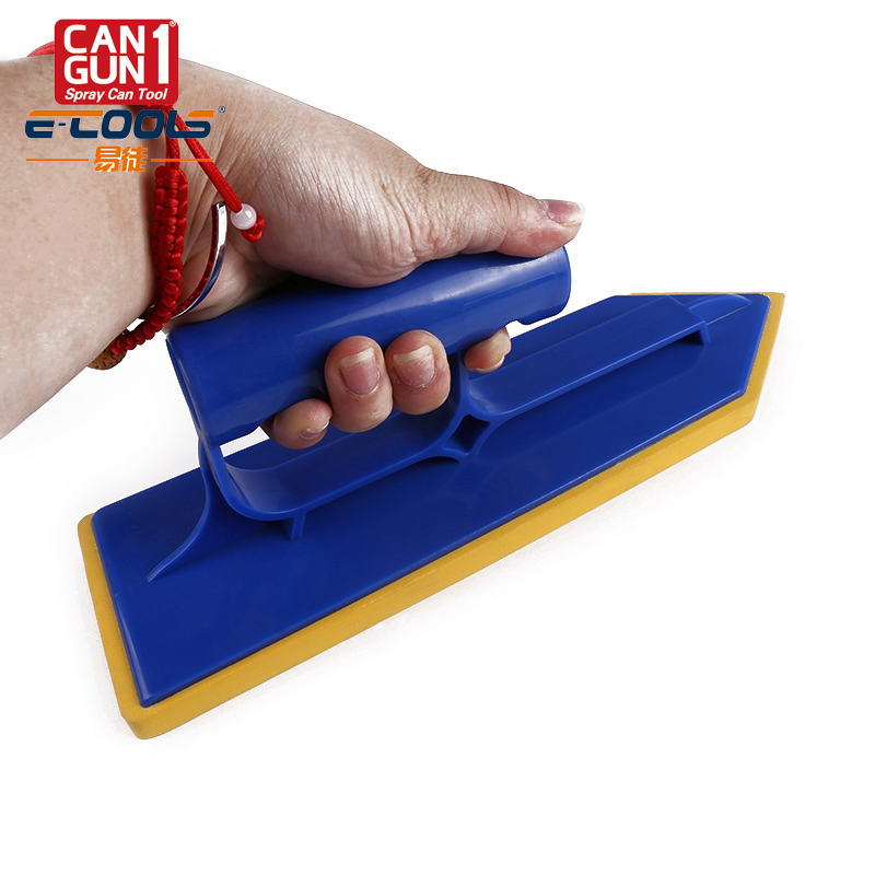 best seller! construction concrete grout float/spongy rubber plastering trowel to smooth floor