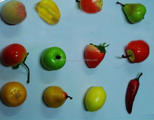 Artificial mini foam fruits and vegetables for kids / festival decoratiion