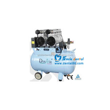 used dental air compressor/ Silent Oilless