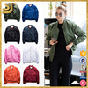 Wholesale classic men women nylon custom bomber jacket
