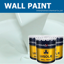 Water based acrylic emulsion paint for exterior wall