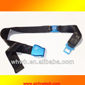 Airline airplane aircraft alloy buckle leather belt