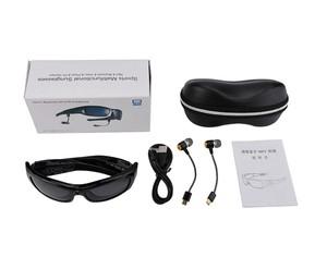 40098d1a99 Camera Sunglasses Headset HD1080P Bluetooth MP3 Player Photo Video Recorder  Mini DV Camcorder for Outdoor Mini