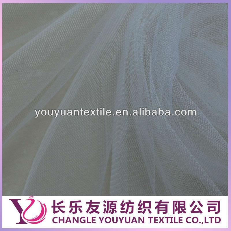 50D Polyester Backing Mesh Fabric / Dress Lining Fabric