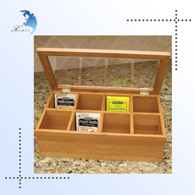 China supply customized components bamboo Wood boxes for tea bags