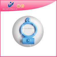Reusable waterproof penis ring electronic vibrator sex toy man