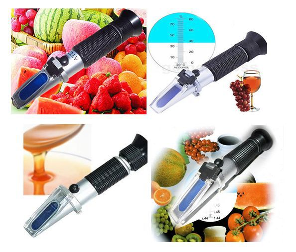 REF103 and REF113 Portable Handheld Brix Refractometer
