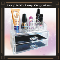 acrylic cosmetic holder jewelry display case