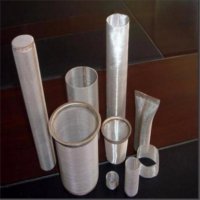 Stainless steel liquid filter sieve tube/round filter/water well screen pipe price