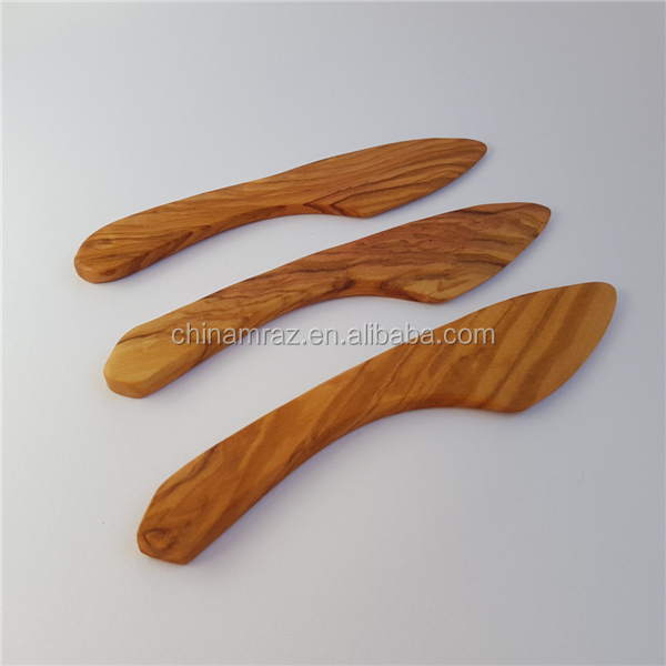 Hot selling wholesale wooden knife butter knife