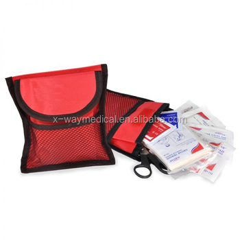 Mini emergency first aid kits