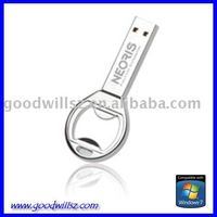 2GB Metal Bottle Opener USB Drives